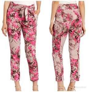 ANTHRO Eva Franco   Floral Ankle Pants
